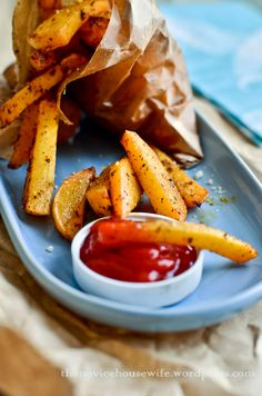 Baked Rutabega Fries - Way healthier than French Fries