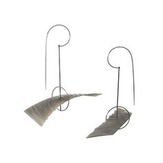 Petr Dvorak Earrings: Untitled, 2014 Agate, steel