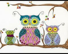 illustrated owls - Google Search