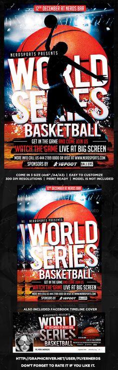 BasketBall Flyer Template Flyers, Flyer template and Basketball - basketball flyer example