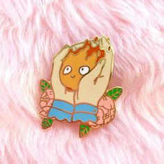 Ghibli Calcifer pin by NorthernSpells