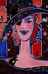 Queen of Magic 1, 1994, Nadia Russ, 1991, neopoprealism