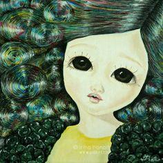 Innocence. #artwork #illustration #oiloncanvas