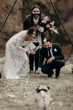 571d64309f975 Doug the Pug s Parents Are Married! You ll Never Guess Which Celeb  Officiated the Nuptials