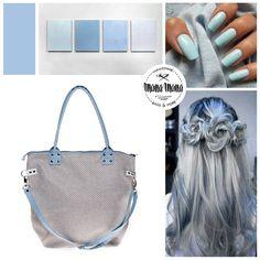 #bag #grey #blue #fashion #gettthelook #grannylook #bigbag #manamana