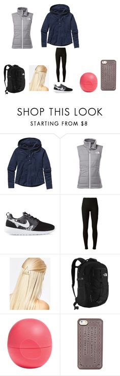"""Cancelled"" by dreaming-of-a-better-tomorrow ❤ liked on Polyvore featuring Patagonia, The North Face, NIKE, Maison Margiela, DesignSix, Eos and Marc by Marc Jacobs"