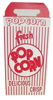 popcorn boxes,closed top,square box,red and whit,stripes,carnival box,fun food box - Jilly Bean Kids jillybeankids.com