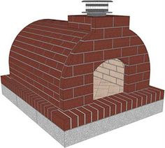 Mattone Barile Grande DIY Wood Fired Brick Pizza Oven Kit by BrickWood Ovens