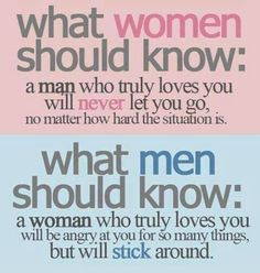 Love this! THis is how it is supposed to work. Normal men just don't break up with a woman because of a criticism or not getting their way. A normal woman in love loves a man unconditionally... Yet a narcissist will break up with you over the slightest thing and then beg for you back... its a cycle that will repeat itself and cause great pain and turmoil. It will never get better...