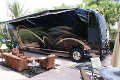 RV And Camping. Learn Everything You Need To Know About Camping. Camping is the ideal wholesome activity that you can do with family and friends. Prevost Coach, Prevost Bus, Luxury Bus, Luxury Yachts, Rv Homes, Motor Homes, Luxury Motorhomes, Rv Motorhomes, Class A Rv