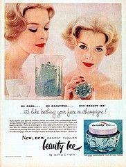 Beauty Ice #vintage #advertisement #cosmetics vintage-advertisements