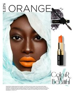 """Orange Crush"" by arethaman ❤ liked on Polyvore featuring beauty, Bobbi Brown Cosmetics, orangecrush, fallbeauty and orangelips"