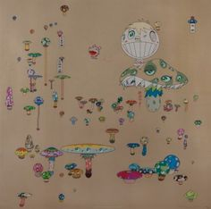 Making a U Turn, the Lost Child Finds His Way Home 2005 by Takashi Murakami