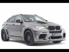 2011 Hamann BMW X6 Tycoon Evo M: This is the Millennium Falcon of automobiles.  Think about it.