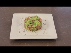 Sweet Tuna And Avocado Appetizer - YouTube