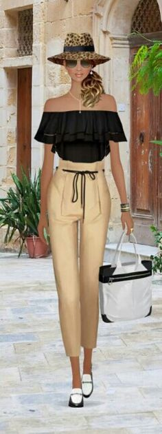 "Covet Fashion Game ""Travel Light"" Challenge ♕DiamondB! Styled & Pinned♕ #covetfashion"