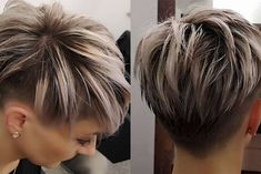 Today we have the most stylish 86 Cute Short Pixie Haircuts. We claim that you have never seen such elegant and eye-catching short hairstyles before. Pixie haircut, of course, offers a lot of options for the hair of the ladies'… Continue Reading → Long Pixie Hairstyles, Short Pixie Haircuts, Hairstyles Haircuts, Black Hairstyles, Short Blonde Pixie, Pixie Cut With Bangs, Corte Bob, Short Hair Cuts For Women, Great Hair