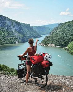 Bicycle touring lets you see great destinations