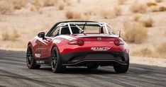 Mazda - The official 2016 MX-5 Global Cup Car Rear view