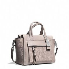 Coach :: BLEECKER MINI RILEY CARRYALL IN LEATHER