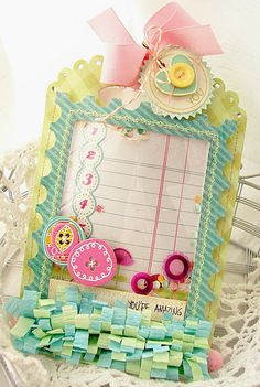 Create It Wednesday {wrapped in love} - {Designer:Andrea}  Using Friend and Thanks Stamp Set