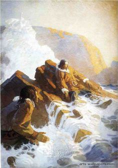 nc wyeth paintings | Wyeth Paintings Art Images