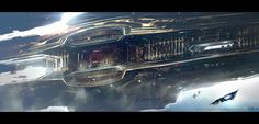 ArtStation - Titus Abrasax Clipper detail from Jupiter Ascending, George Hull