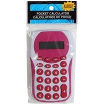 Bulk 8-Digit Handheld Calculators at DollarTree.com