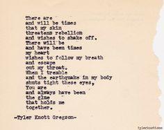 Typewriter Series #365 by Tyler Knott Gregson