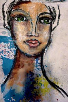 Dina Wakley - Fabulous Funky Girl