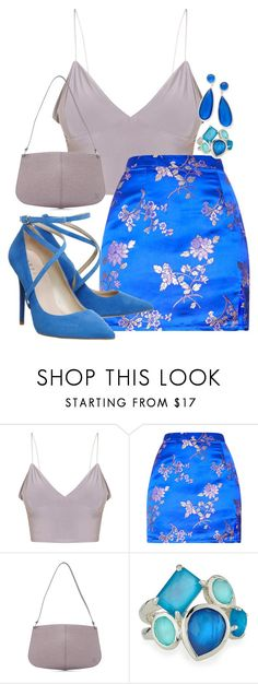 """""""Blues"""" by jennu721 ❤ liked on Polyvore featuring Louis Vuitton, Ippolita, Blue, gray and lavender"""