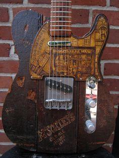 Guitar Shop, Box Guitar, Guitar Art, Guitar Songs, Guitar Inlay, Telecaster Guitar, Beautiful Guitars, Guitar Design, Custom Guitars