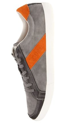 Guess – Joseph4: $34.99, 50% Off! (MSRP 70.00)  Sport sleek sneakers and exude a casual-cool vibe. You're not the average Joe, so your footwear shouldn't be either.