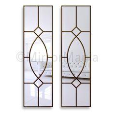 Gretta Gothic Original Handcrafted Window Mirrors - All Mirrors - Mirrors