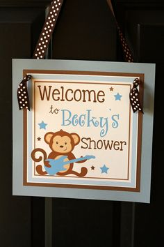 Rockstar monkey shower