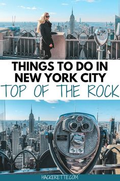 Click here for the complete guide to visiting the Top of the Rock in New York City. #newyorkcity #newyork #topoftherock | things to do in New York City | New York City Instagram photo spots | Top of the Rock New York City | New York City best view | New York City skyline | New York City top things to do in | Top of the Rock NYC | things to do in NYC | Instagrammable places in New York City | New York City photography spots | New York City things to do in winter | New York City travel tips New York City Vacation, Visit New York City, New York City Travel, Us Travel Destinations, Travel Couple, Family Travel, Travel Guides, Travel Tips, Travel Advice