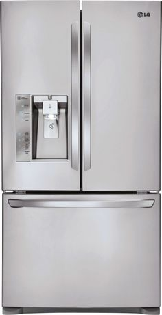24.0 Cu. Ft. Stainless Steel Counter Depth French Door Refrigerator - Energy Star