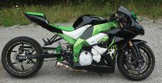 2009 Kawasaki ZX10r - after