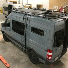Sprinter van build with Aluminess gear almost ready to be released into the wild. Sprinter van build with Aluminess gear almost ready to be released into the wild. Mercedes Sprinter Camper, Mercedes Camper Van, 4x4 Camper Van, 4x4 Van, Sprinter Van Conversion, Van Conversion Interior, Camper Van Conversion Diy, Transit Camper, Ford Transit