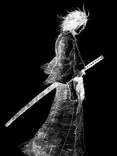 ronin samurai by gambit9may.deviantart.com