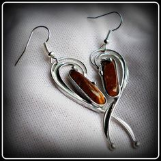 Tiger Eye earrings / SOLD /