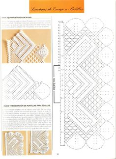 Archivo de álbumes Crochet Books, Knit Crochet, Bobbin Lacemaking, Bobbin Lace Patterns, Needle Lace, Lace Making, Album, Needlework, Diy And Crafts