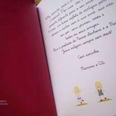 Dedicatória dos queridos avós à netinha ficou registrada no livro personalizado Canta Comigo, da @mybabyfaceefesta, uma lembrança que ela levará por toda a vida !  #presenteespecial #caricatura #livrospersonalizados #livros #mybabyface #mybabyfesta