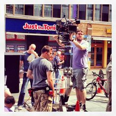 photo by jack shelbourn  ‏@Jack Shelbourn Yours truly #operating the shot. #sony #fs700 #camera #filmset #filmmaking #movcam #arri