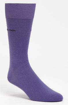 Men's Calvin Klein 'Giza' Socks - Purple
