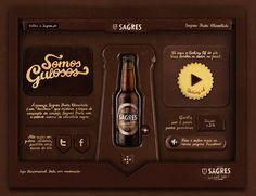 so lecker kann eine Webseite sein: portugiesisches Bier mit Schoko-www
