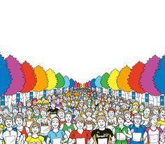 大阪マラソン2012『みんなで走ろか。大阪のRUN!』 #Osaka #Japan #Sports osaka marathon 2012