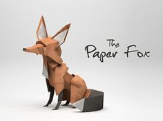 The Paper Fox by Jeremy Kool  Raised: A$10486 Funded: 210%  Category: Art
