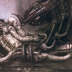 Space Jockey, HR Giger