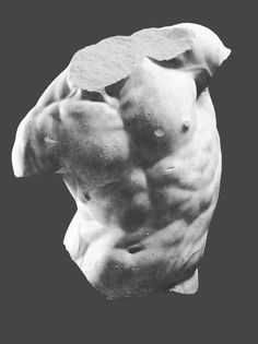 Torso Art Print by Mike Fernandez The themes in Your Need connected with Bronze sculpture Ancient Greek Sculpture, Greek Statues, Ancient Art, Roman Sculpture, Art Sculpture, Bronze Sculpture, Sculpture Romaine, Arte Sketchbook, Greek Art